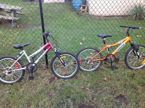 2 kids boys girls bikes ,like new ,only 25 dollars