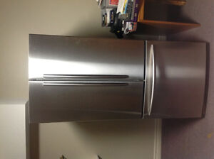 22 cubic Samsung Stainless French door refrigerator