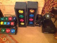 Various professional disco lights Soundlab etc