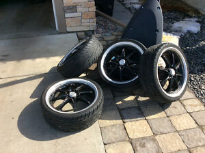 Cooper 215/35/r18, New rubber and Mags, 4x100, 4x113. Mini/civic