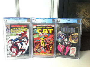 Selling Off 3 CGC Graded Comic Books!!