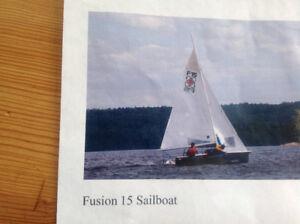FUSION 15 SAILBOAT - WINNER BOAT OF THE YEAR AWARD