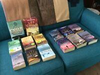 Various Lee Child Books