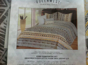 Beautiful king comforter