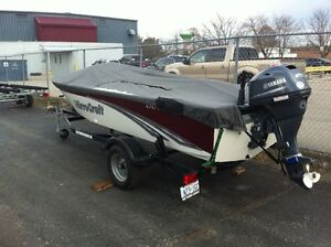2014 Mirrorcraft 1615 Outfitter / 25 HP Yamaha London Ontario image 3