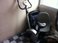 Exercise Bike with FREE Fan, computer Chair and TV stand