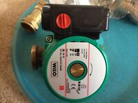 Wilo Bronze circulator for secondary hot water systems £125