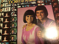 Collectable Osmond Vynal albums