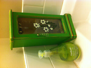 Vintage Jewelry Box - Green