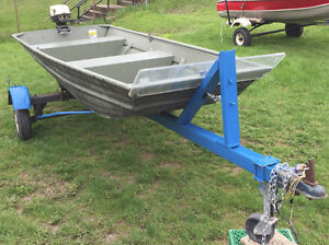 12' boat motor and 4hp for hunting or fishing