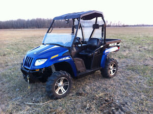 2012 Arctic Cat Prowler XTX Side by Side