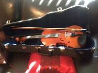 Violon 4/4 Albert Kramling. Étui et Archet.