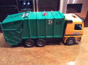Large Bruder Mercedes Recycling Garbage Truck - Germany
