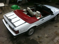 1988 V8 Mustang..Convertible..only 121kms..5 speed..$6700