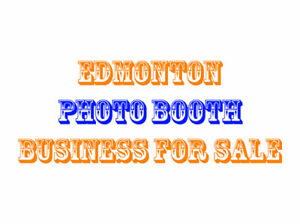 Edmonton-Based Photo Booth Business For Sale - 5+ Years Old