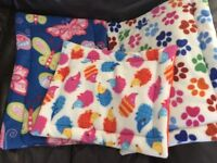 Hand made lap pads liners pouches