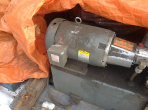 7.5 hp 3 phase Electric Motor