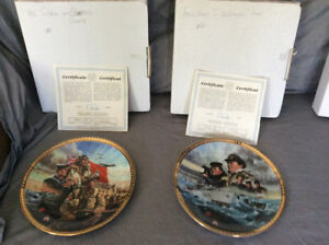 Canada Remembers Military Plates