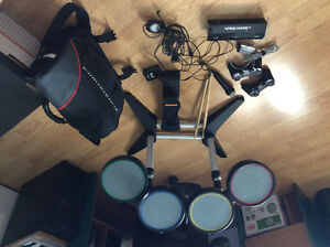 PS3 Rock Band Drum set Bundle