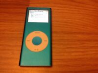 Apple iPod metallic blue nano 2nd 4 gb a1199 In good used condition