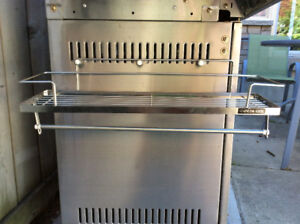 Stainless Steel Kitchen Rack with towel bar