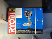 Robin drill press brand new 10 inch