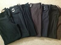 Job lot of ladies trousers size 12 ,good brands 7 in total
