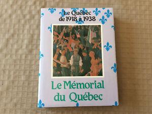 Mémorial du Québec, t.5, 1918-1938