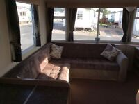 Lovely static caravan holiday hire near southport January Madness!!!
