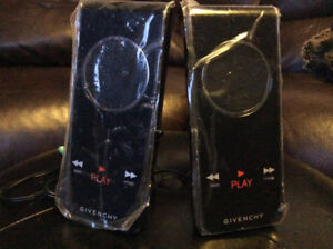 GIVENCHY PLAY INTENSE LIMITED EDITION PORTABLE SPEAKERS..