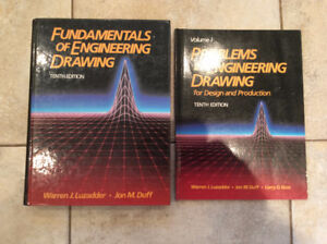 Fundamentals of Engineering Drawing Text & Study Guide