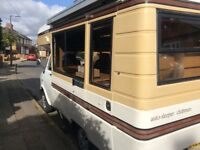 Bedford cf250 Autosleeper Motorhome, 4 berth. 1984 2.3l petrol engine with 4 speed gearbox.