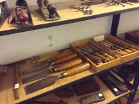 Antique and vintage handtools  for sale in downtown Toronto