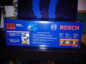 BOSCH 4 1/2 Inch Angle Grinder. If interested email please
