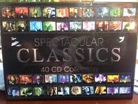 Spectacular Classics 40 CD collection!