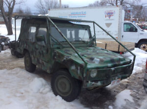 ILTIS by Bombarier 4x4 only 31,ooo kms, Lic/mvi'ed , 4700.00