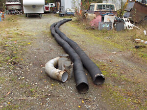 "8"" low pressure air or  vacuum service hose"