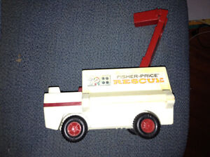 Vintage Fisher Price Rescue truck for sale London Ontario image 1