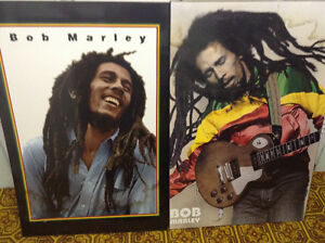 two Bob Marley posters
