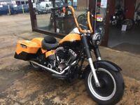 Part Exchange Considered 🌞Custom Harley Davidson Fat Boy Bagger 1584cc