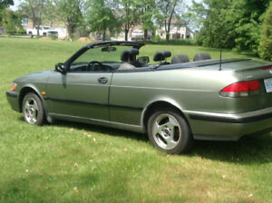 1999 Saab 93 convertible etested and certified