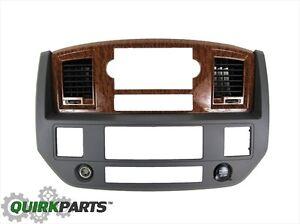 2006 dodge ram 2500 navigation bezel autos post. Black Bedroom Furniture Sets. Home Design Ideas