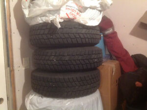 Studded winter tires 205-70-15