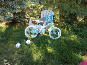 Used only a few times---basically new girl bike