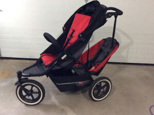 Phil & Ted Single & Double Stroller, A+ Condition with Extras