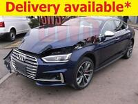 2017 Audi S5 3.0 TFSI Quattro Tiptronic Sportback DAMAGED ON DELIVERY