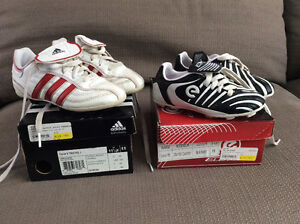 Kids Soccer cleats - size 9 and size 12