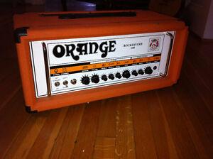 Ampli de guitare Orange Rockerverb 100 (lampes neuves) Québec City Québec image 1