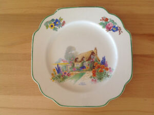 A Bit of Old England Dinner Plate