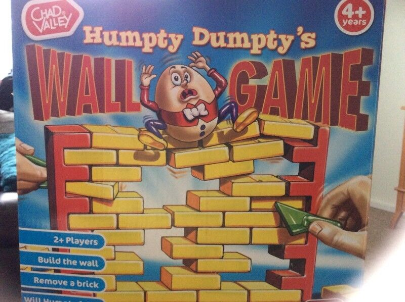 CHAD VALLET HUMPTY DUMPTY WALL GAME.